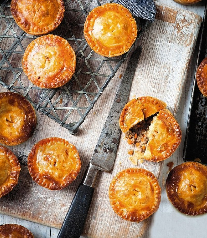 Individual Beef Meat Pies