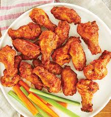 Fully Cooked BBQ Chicken Wings