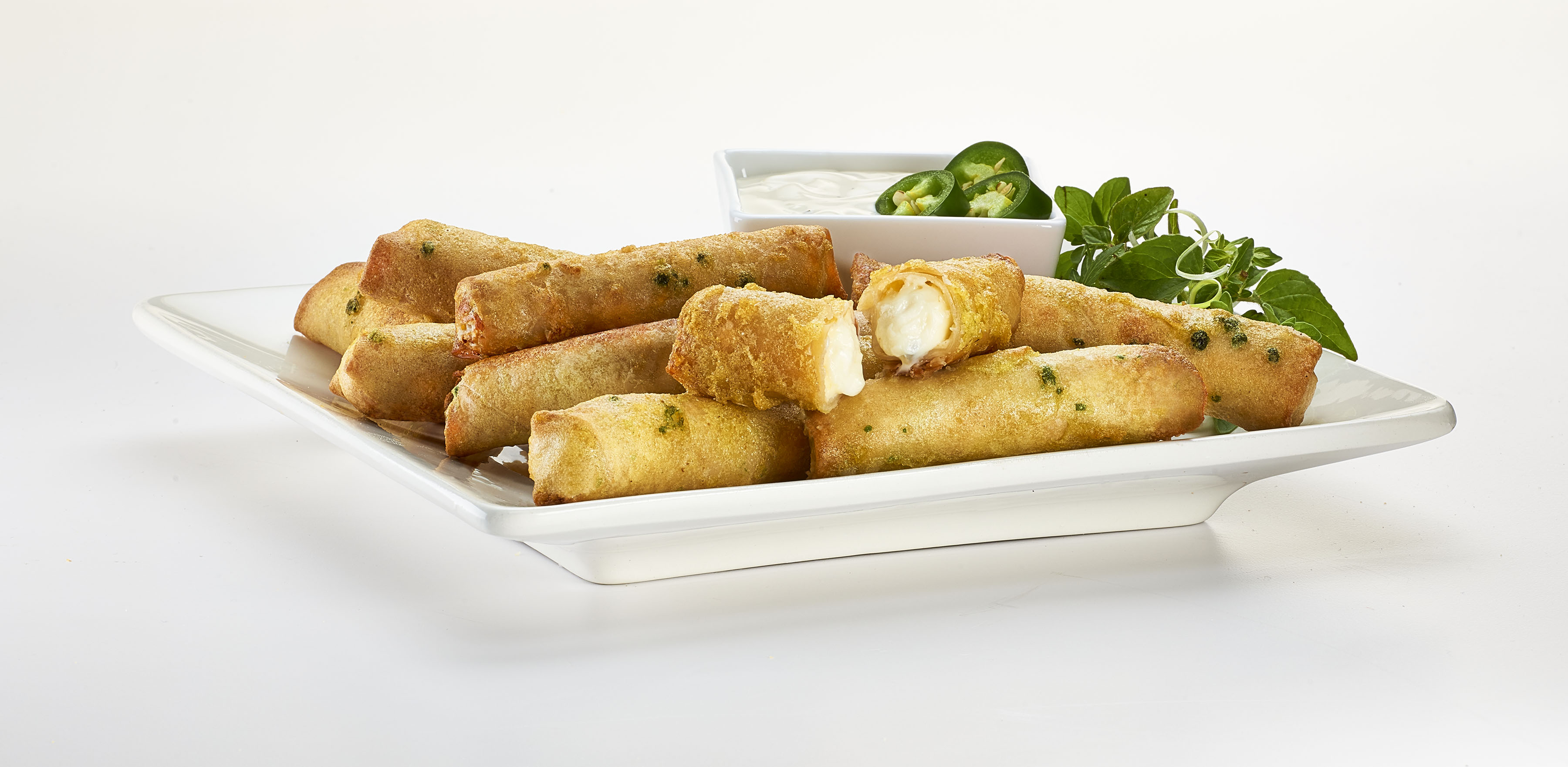 Breaded Jalapeno Cheese Sticks